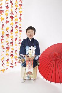 男の子 七五三 奈良のスタジオ写真