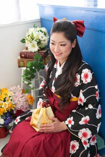 女の子卒業式着物