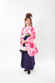 女子卒業袴