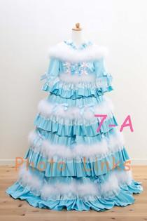 七五三 7歳女の子 写真用衣装 ドレス