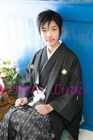 キッズの卒業式着物 写真 レンタル 奈良