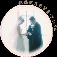 結婚式当日写真・アルバム